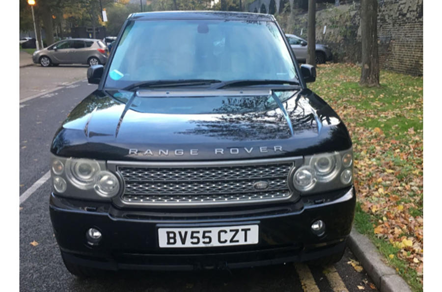 buying a used range rover guide