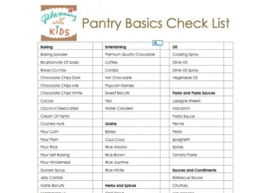 nutrisystem daily tracker and grocery guide