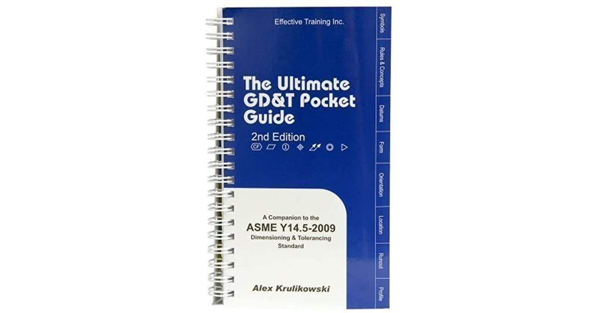 the ultimate gd&t pocket guide