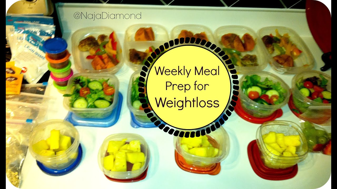 meal prep guide for weight loss