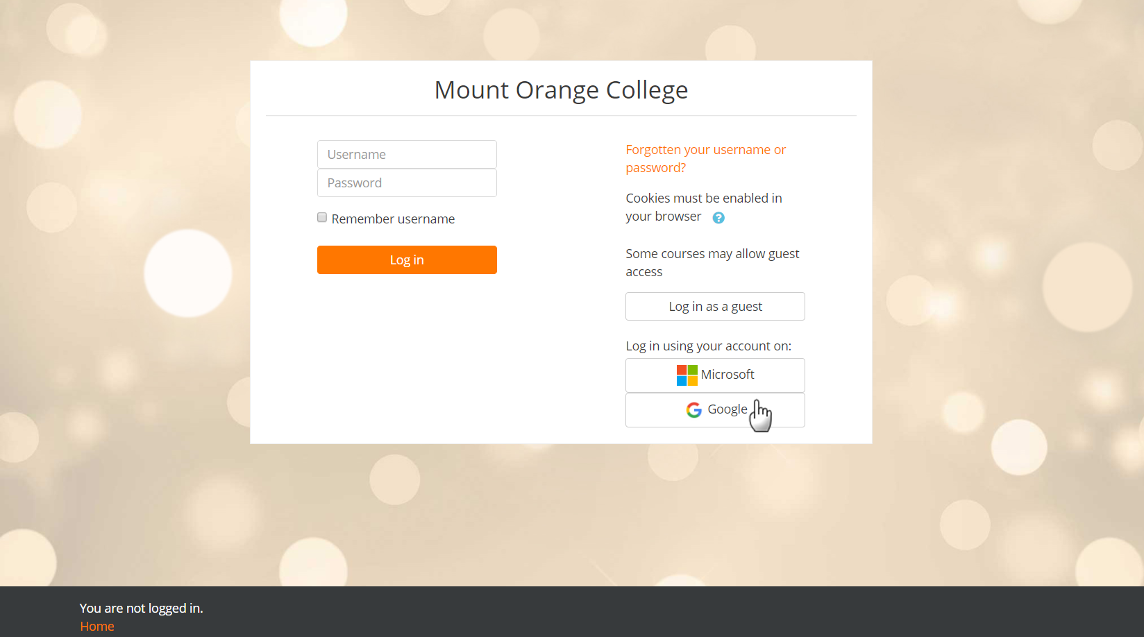 moodle user guide for students