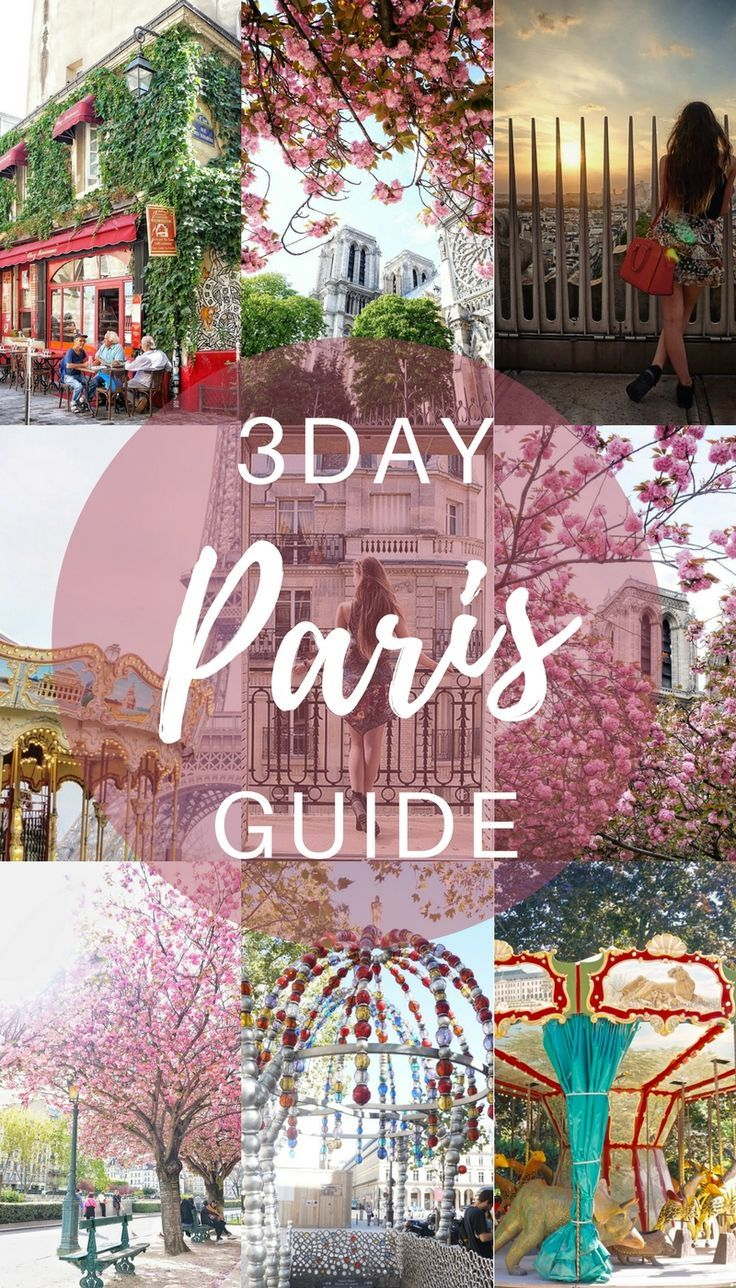 paris in a day guide