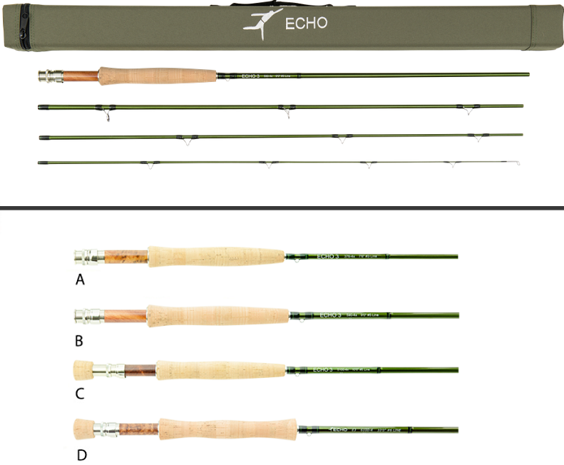 fly rod guide size selection