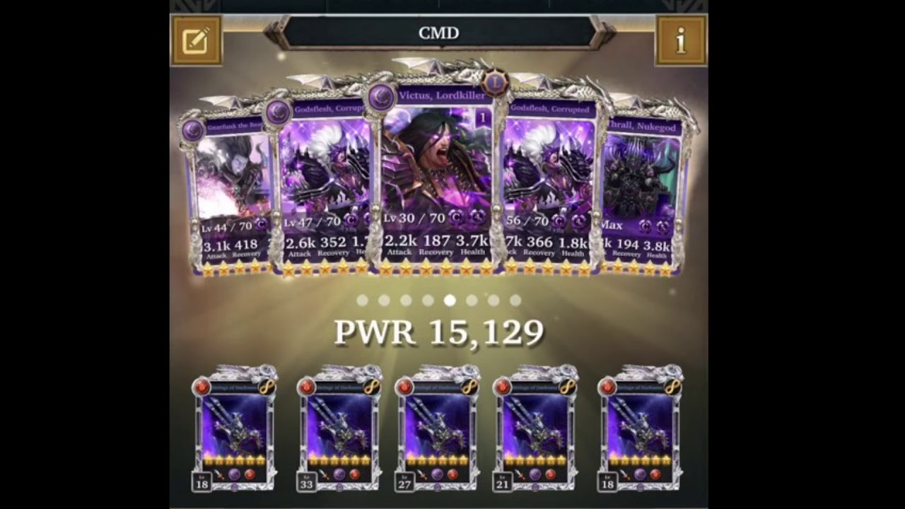 legendary game of heroes guide