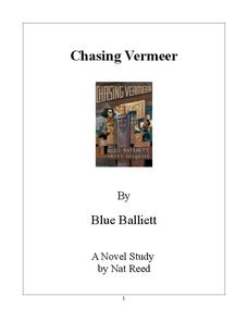 chasing vermeer study guide answers