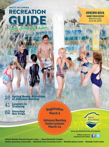 city of ottawa spring 2018 recreation guide