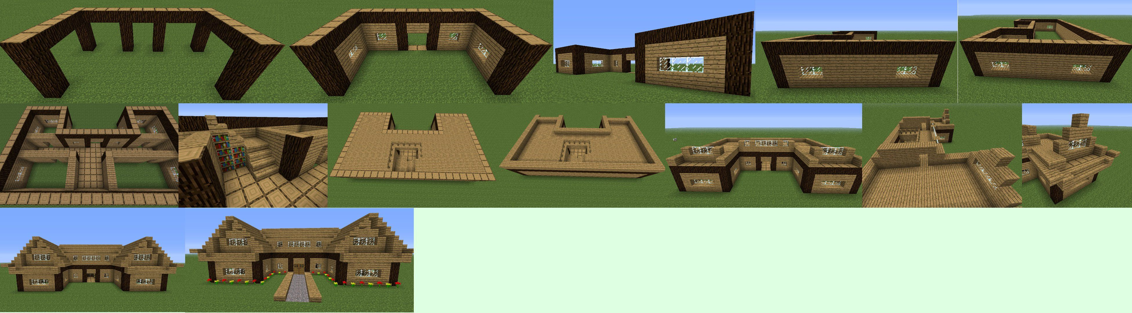 minecraft castle step by step guide
