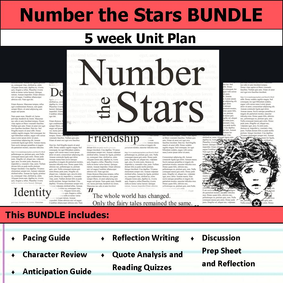 number the stars anticipation guide